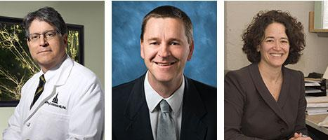 Dr. Jeffrey Rothstein, Dr. Clive Svendsen and Dr. Merit Cudkowicz