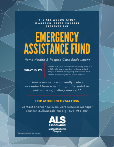 Emergency Assistance Fund Flyer 2021 Massachusetts