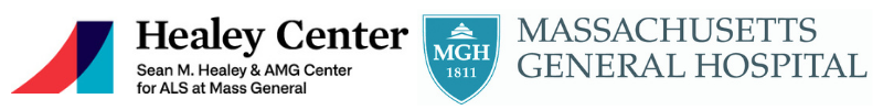 Healey ALS Center and Mass General Hospital Logos